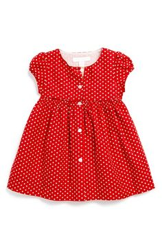 Burberry Polka Dot Dress (Baby Girls) | Nordstrom