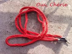 Cotton Hemp Wrapped Earbuds  Tangerine by OuiCherieDesigns on Etsy, $25.00