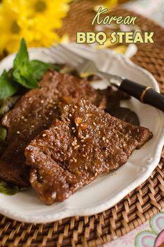 Bulgogi Steak {Korean BBQ Steak}