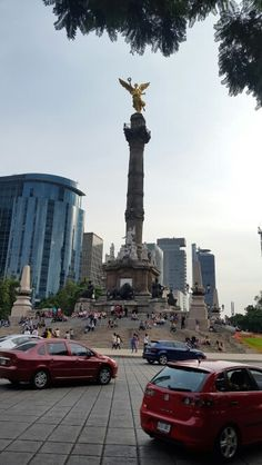 Ángel de la independencia.  México