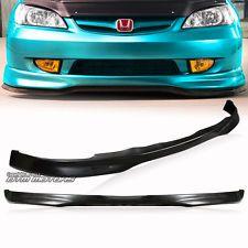 Type-R Style Polyurethane Front Lower Bumper Lip For 2001-2003 Honda Civic 2/4Dr http://ift.tt/1gvWDha