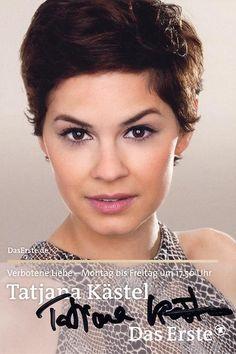 Rebecca von Lahnstein gespielt von Tatjana Kästel Angels, My Love, Hair Styles, Log Projects, Forbidden Love, Hair Plait Styles, Angel, Hair Makeup, Hairdos