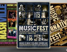"Check out new work on my @Behance portfolio: ""Music Festival Flyer Bundle V1""…"