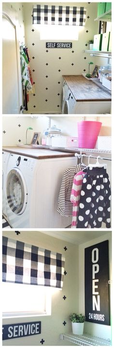Who wouldn't want to do Laundry in here?