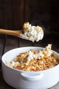 This creamy brie four cheese mac and cheese is melt in your mouth good! Do not skip the buttery ritz crackers on top! You will regret it, I promise!