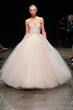 Wedding Dresses: Embroidered Ball Dress by Lazaro