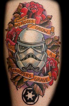 Star Wars Stormtrooper Tattoo