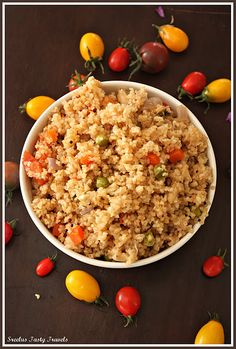 A savory cracked wheat recipe loaded with vegetables rich in protein,iron and fiber. gives hunger pangs a kick in the rear Meat Recipes, Indian Food Recipes, Vegetarian Recipes, Healthy Recipes, Ethnic Recipes, Foods High In Iron, Iron Rich Foods, High Iron, Cracked Wheat