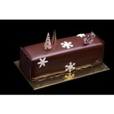 Laurent Bernard Chocolatier Chocolate Pear log cake Small (4-6 pax) - Christmas Cakes - Christmas Collection 2012