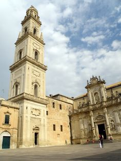 The Cathedral in Lecce Travel Around The World, Around The Worlds, Places Ive Been, Places To Go, Italy Images, Places In Italy, Voyage Europe, Photography 101, Beautiful Landscapes