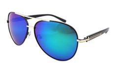 5c78bf556da6 Aviator blue mirror lens  sunglasses  with UV protection R00109