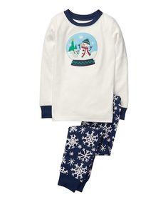 NEW Gymboree Boy Pajamas Gymmies PJs 4 8 12 year Holiday Santa Ornaments Snow