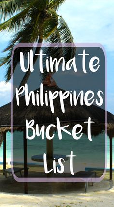 From gorgeous beaches to lush rainforest, you have to add these spots to your Philippines travel itinerary. Voyage Philippines, Philippines Vacation, Les Philippines, Philippines Travel Guide, Phillipines Travel, Siargao Philippines, Philippines Tourism, Oh The Places You'll Go, Places To Travel