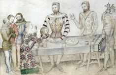 Guiron de Courtois, Italy 1370-80, Bibliothèque Nationale de France.