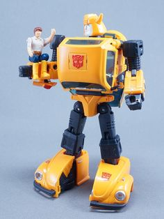 Transformers Masterpiece MP-21 Bumble (Bumblebee) with MP-10 Spike Witwicky