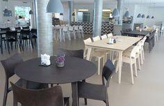 Design furniture in canteen