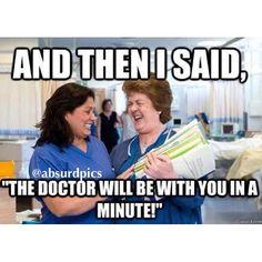 Nurses and their sick sense of humor #nurse #doctor   Absurd Pics