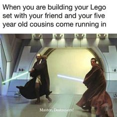 Funny Cute, The Funny, Best Funny Photos, Funny Pictures, Funny Pics, Dankest Memes, Jokes, Prequel Memes, Star Wars Saga