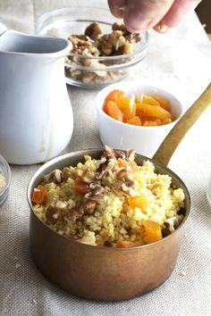 Blueberries 'n' Cream Amaranth Porridge | Recipe | Blueberries, Cream...