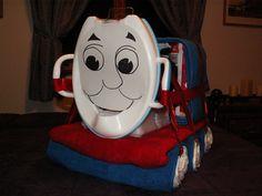 Thomas the Train Diaper Cake.