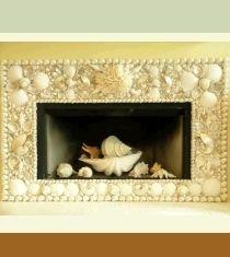 shell fireplace surround - Google Search