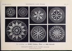 Teneriffe lace work