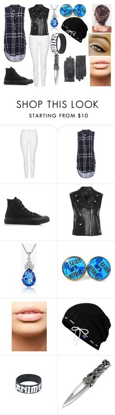 """""""Untitled #138"""" by erementaruartist on Polyvore featuring Topshop, Converse, Maje, MDMflow and Keds"""