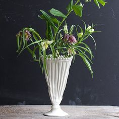 Oblong Vase | Frances Palmer Pottery