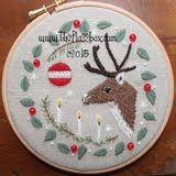 Christmas Feeling Crewel Embroidery Patterns
