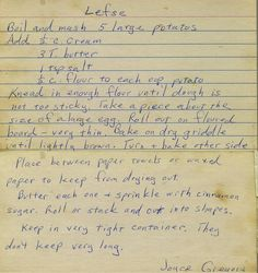 I love vintage recipes. They are truly the best.