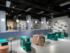 Arabeschi di Latte sets up Water Bar for Selfridges' Project Ocean campaign - News - Frameweb