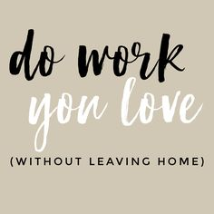 How to Start Working from Home - A Calming Home