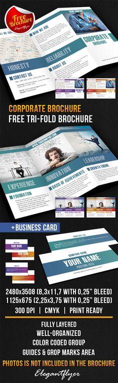 Free 3-Fold Brochure Template Free Tri-Fold Brochure Templates - free printable tri fold brochure templates