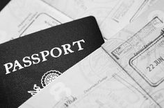 """""""Sorry, how many passports do you have?"""" He asks, leaning against the table. """"Here? 23."""""""