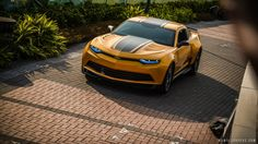 Camaro New bumblebee Car in Transformers 4 http://www.iroczcamaro.com