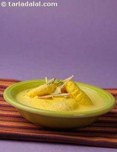 Kesar Rasmalai recipe | Rasmalai Mithai Recipes | by Tarla Dalal | Tarladalal.com | #2011