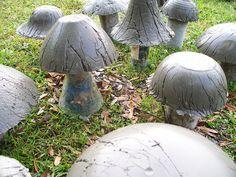 Concrete  Mushrooms