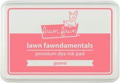 guava ink pad | Lawn Fawn