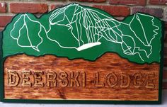 The Carving Company | Full Service Custom Carved Sign Shop | Custom Cedar Carved Business Signs (B14)