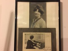 Two Wanda postcards one signed one early