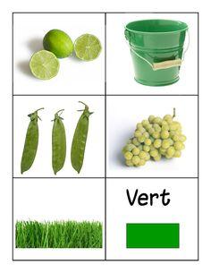kleuren leren groen