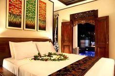 Mestre quarto cama - Nice and Clean 1 Cama Quarto Villa em Ubud - Aluguer