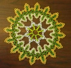 If the winter darkness gets you down - think spring!  This doily is available in my Etsy store.