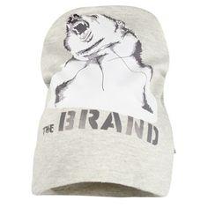 The BRAND - Hat Grey Melange Bear - Babystore.no