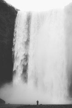 Download this free photo from Pexels at https://www.pexels.com/photo/water-waterfall-black-and-white-man-19035 #black-and-white #man #river