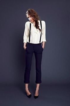 white-button-down-blouse-black-suspenders-navy-skinny-pants-black-pumps-large-5615.jpg (325×488)