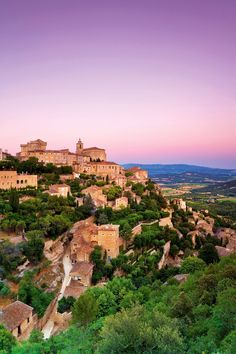 Gordes, Provence, France A la montagne d'amour also Lourmarin in provence Places Around The World, Oh The Places You'll Go, Cool Places To Visit, Great Places, Places To Travel, Beautiful Places, Around The Worlds, Travel Destinations, Aix En Provence