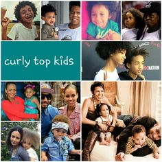 Curly top kids