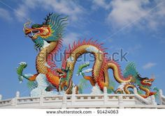 thailand flying dragon sculpture - Google Search