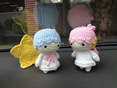 Crochet Little Twin Stars Kiki Lala Doll